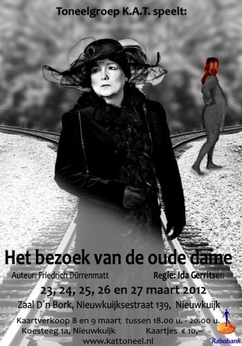 Affiche - Het bezoek van de oude dame